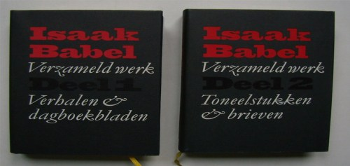 De covers van De verhalen - Isaak Babel