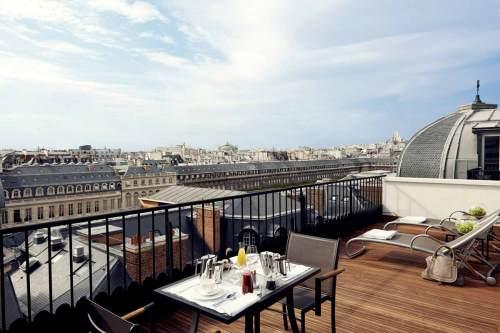 Dakterras Grand Hotel Du Palais Royal