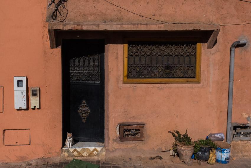 Streets of Marrakesh, Morocco.