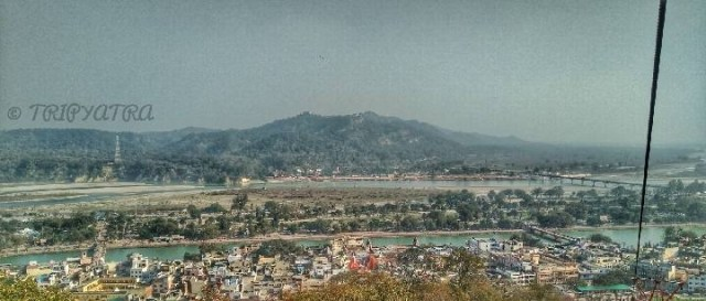 City view of haridwar
