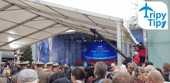 oslavy sto rokov Československa