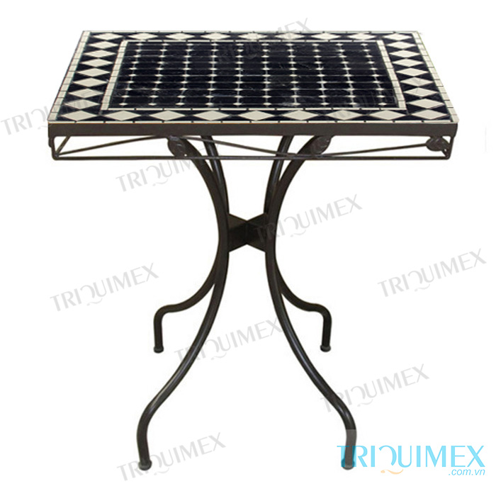 Square-Mosaic-Table-with-Wrought-Iron-Base-4