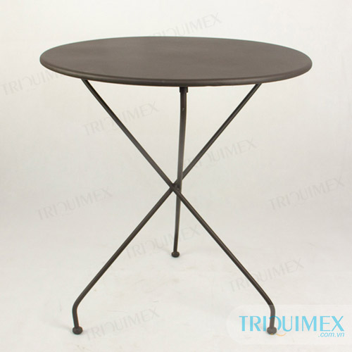 Modern-wrought-iron-round-table