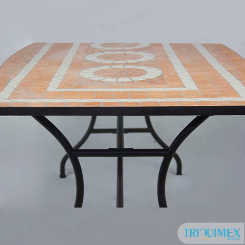 Rectangular-wrought-iron-dining-table-with-mosaic-top (4)
