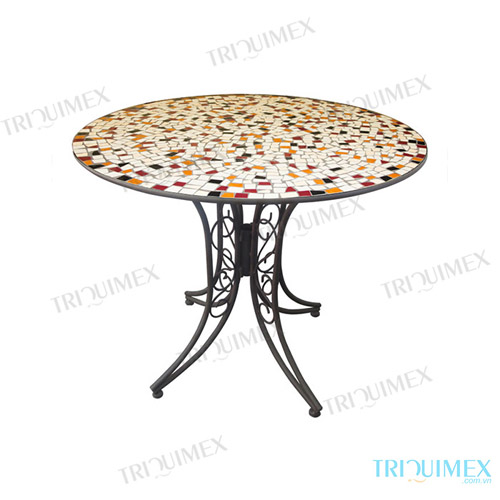 Round-Ceramic-Mosaic-Outdoor-Dining-Table (3)