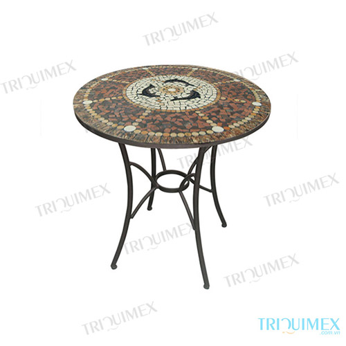 Round-Mosaic-Outdoor-Dining-Table-with-Wrought-Iron-Base (4)