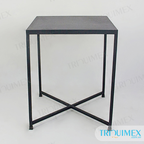 Square-stone-coffee-table-with-iron-base