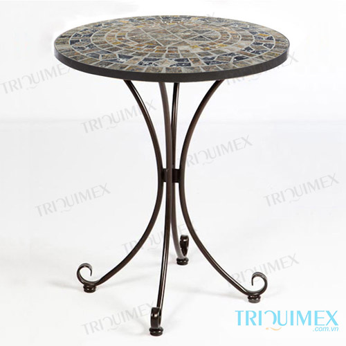 round-mosaic-coffee-table