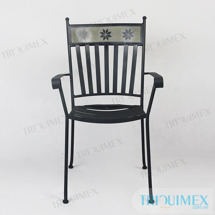 ... Modern Iron Café Chair9 ...
