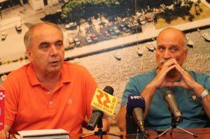 Čelnici HURS-a Zdravko Burazer i Ozren Matijašević