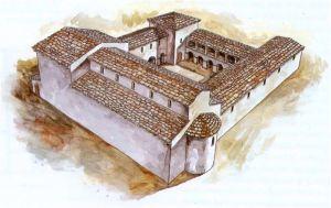 Rekonstrukcija nekadašnjeg izgleda Crkvine
