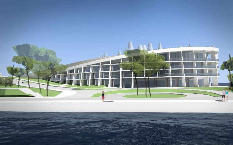 Ovako će izgledati novi hotel u Mandalini