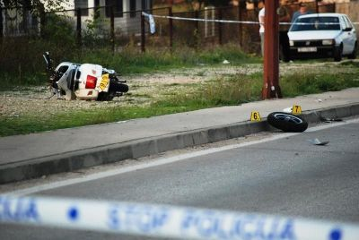 U Bilicama na Vespi poginuo 58-godišnjak – Nijemac (24) u VW Lupu oduzeo mu je prednost prolaska