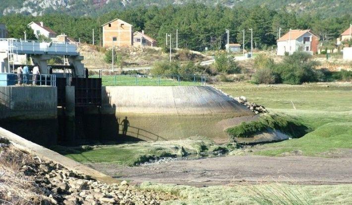 Brana Hidroelektrane Golubić