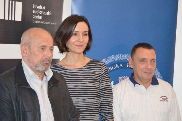 Damir Ocvirk, Maja Hrgović, Vlado Vurušić