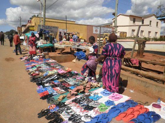 Songea- glavna trgovačka ulica