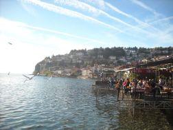 Ohrid - prvi red do jezera