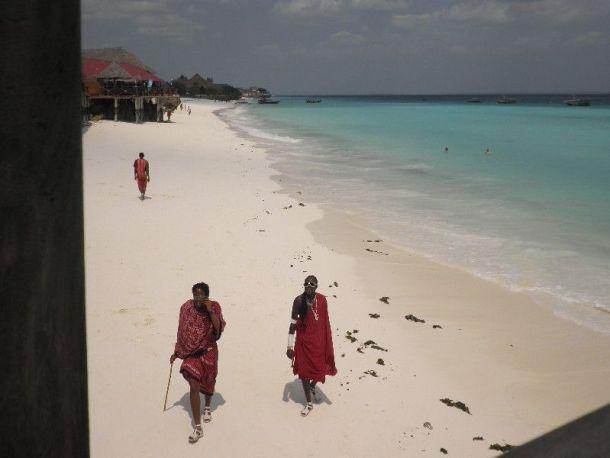 pripadnici plemena Masai