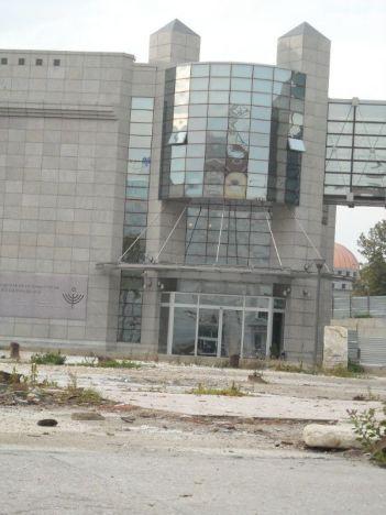 Muzej holokausta je ostakljen