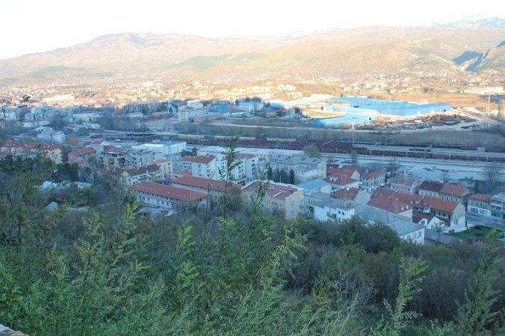 Knin - pogled s tvrđave
