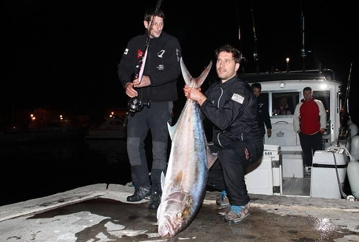 Nogometaš Tomo Šokota ulovio je gofa od skoro 40 kilograma (Foto Hrvoslav Pavić) (5)