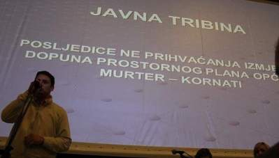 Tribina o prostornom planu: Arhitekt Nikola Bašić miri zavađeni Murter