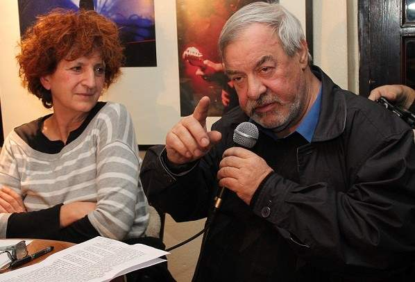 Jordanka Grubač i Jakša Fiamengo (Foto: Hrvoslav Pavić)