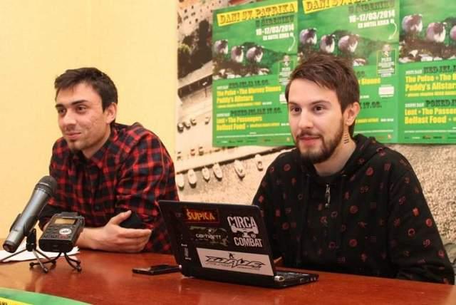 Domagoj Celner i Igor Bergam