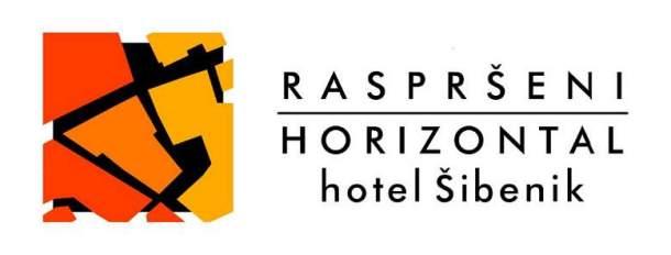 Logotip 'raspršeni' u bijeloj varijanti