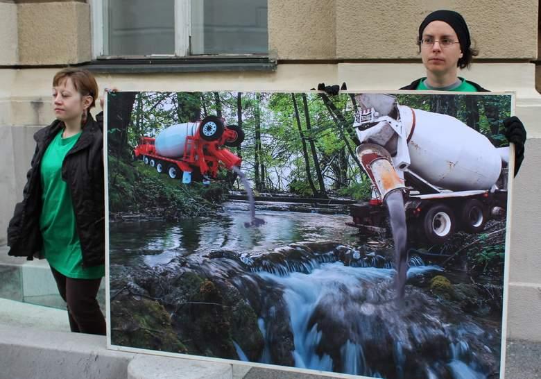 Prosvjed nije donio rezultata (foto: Zelena akcija)
