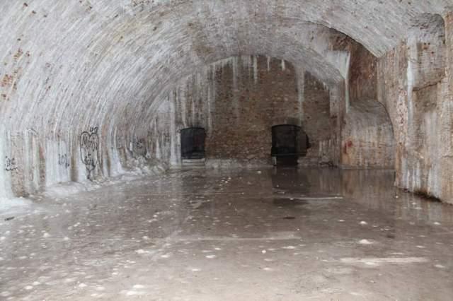 Jedna od dvorana tvrđave sv. Nikole (Foto: H. Pavić)