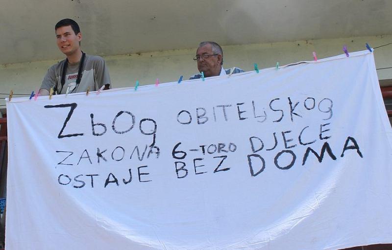 Ivan Pernar: Deložacija obitelji Mišković bila je protuzakonita i zapravo nije ni provedena