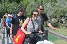 Tomislav Kuzmanović i ekipa prelaze čuveni most