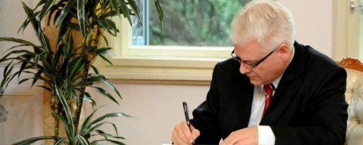 Predsjednik Republike Hrvatske dr. Ivo Josipović (Foto Ured Predsjednika)