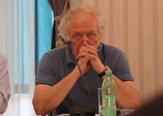 Predsjednik Hrvatskog novinarskog društva Zdenko Duka (Foto H. Pavić)