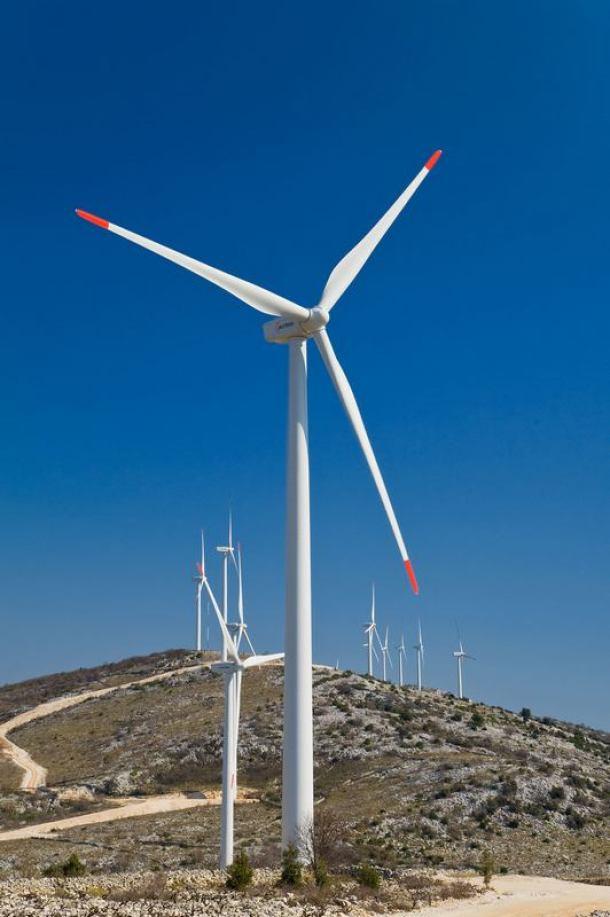 stupovi za vjetropark Jelinak