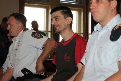 Dragan Paravinja na ročištu od 7. srpnja (Foto H. Pavić)