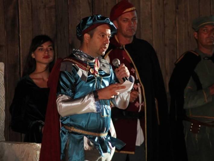 Svečano otvaranje Sajma u srednjovjekovnom Šibeniku (foto: www.sibenik.hr))