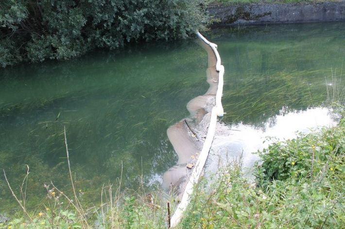 Kiše počistile kninsku lagunu mazuta (Foto H. Pavić) (19)