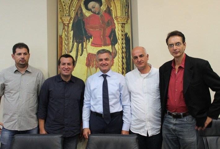 Makedonski novinari na prijamu kod gradonačelnika Šibenika dr. Željka Burića (Foto H. Pavić) (5)