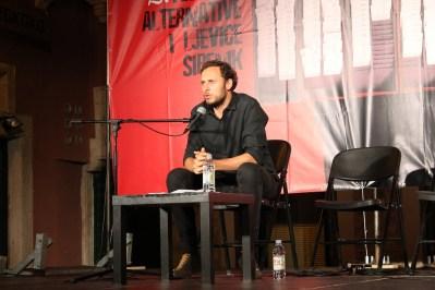 Srećko Horvat na FALIŠ-u (Foto: Hrvoslav Pavić)