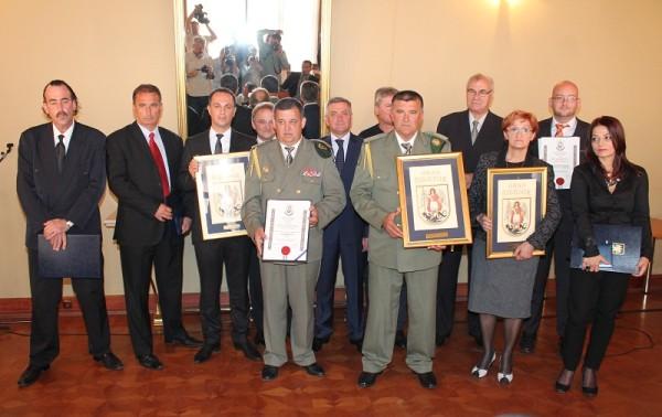 Svi ovogodišnji dobitnici nagrada Grada Šibenika (Foto: Hrvoslav Pavić)