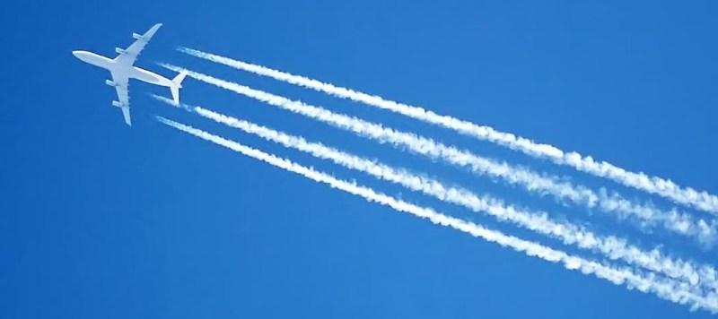 Tragovi aviona (izvor Wikipedia)