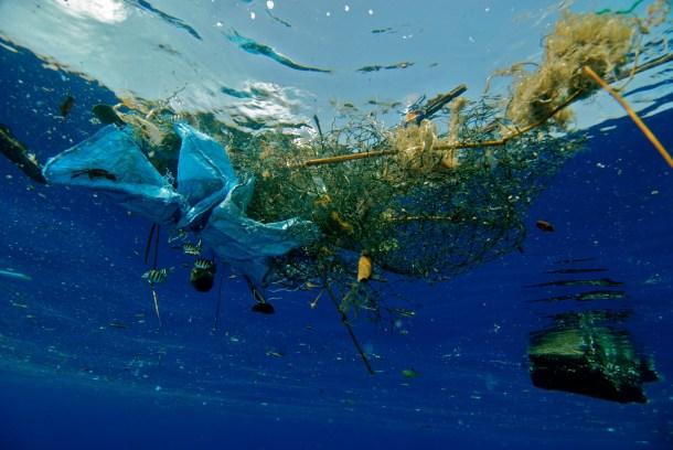 Plastični otočić (foto Facebook)