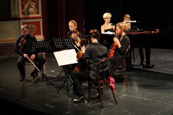 Gordana Pavić i kvartet Porin (Foto: Hrvoslav Pavić)