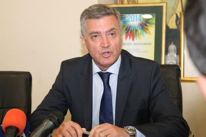 Gradonačelnik Šibenika dr. Željko Burić (Foto H. Pavić)