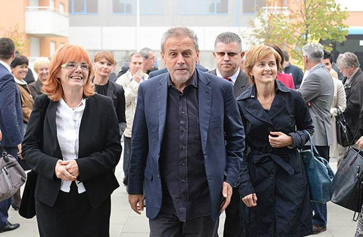 Gradonačelnik Zagreba Milan Bandić sa suradnicima (Foto: Službena Facebook stranica Milana Bandića)