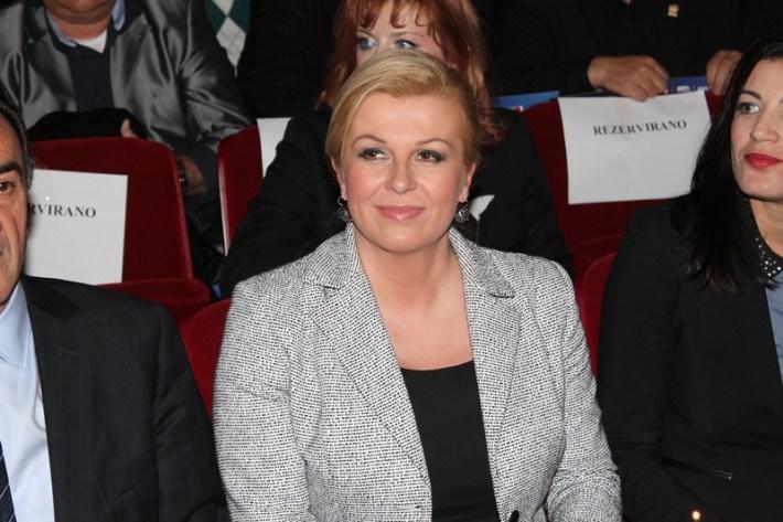 Kolinda Grabar Kitarović - predizborni skup u Šibeniku (19)