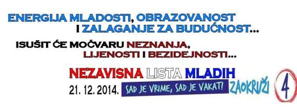 Sinoćnje postizborno veselje mladih Vrgorčana (foto Facebook)