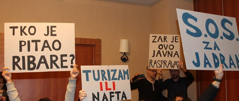 S tzv. javne rasprave o tzv. Streteškoj studiji (foto TRIS/H. Pavić)